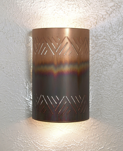 Crosshatch Sconce